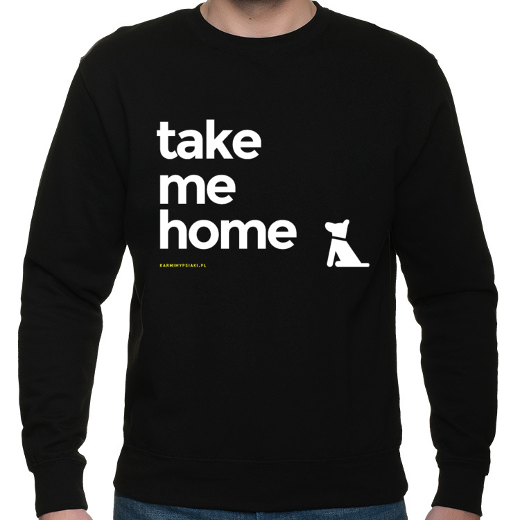 TAKE ME HOME - BLUZA CZARNA